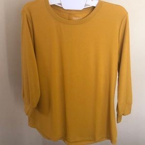 TIME AND TRU 3 1/4 Sleeves Top Size L (12-14)